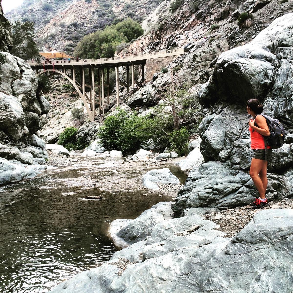 Bridge to Nowhere Hike – Monica Goes